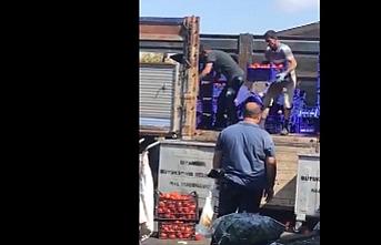 İBB'den çöpe dökülen domatesler hakkında açıklama