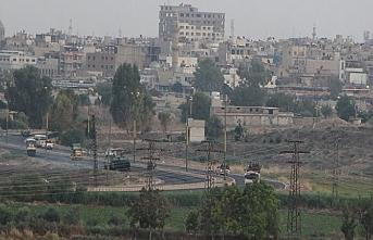 Kamışlı-Nusaybin sınırında YPG'lilerin kamyon turu