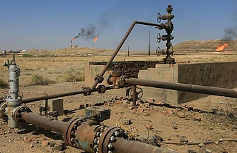 Kerkük'teki petrol rafinerisinde yangın