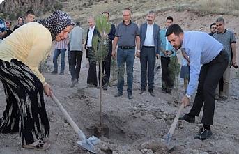Nevşehir'de her doğan ve ölene bir fidan kampanyası