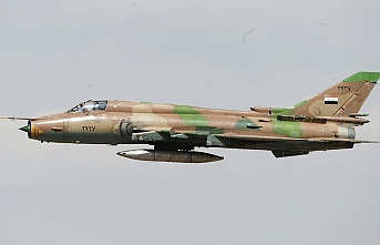 Rus yapımı savaş uçağı Su-22 Suriye'de düşürüldü