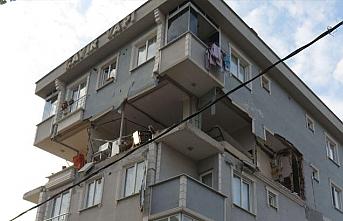 Sancaktepe'de bir evde patlama meydana geldi