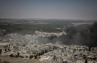 Suriye'de Rus hava saldırıları: 4 ölü