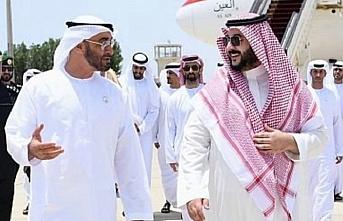 Suudi Arabistan Kralı ile BAE Veliaht Prensi, Yemen'i görüştü