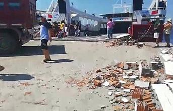 Tekirdağ feribotu Avşa adasına çarptı, 7 yaralı