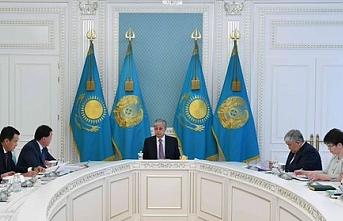 Tokayev Türk Konseyi Genel Sekreteri Amreyev'i kabul etti