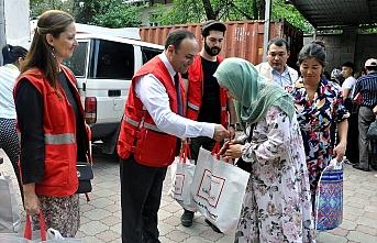 Türk Kızılay, Kırgızistan'da 4 bin aileye kurban etini ulaştıracak