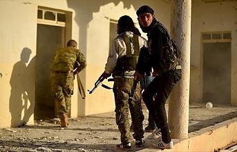 YPG/PKK'lı teröristlerden ÖSO mevzilerine saldırı