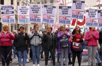 Arjantin'de hükümet karşıtı gösteriler sürüyor