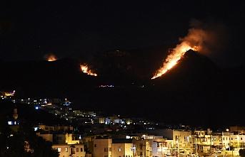 Bodrum'daki yangında endişeli bekleyiş sürüyor