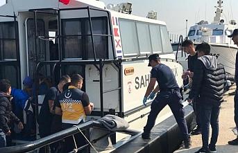 Edirne'de göçmenleri taşıyan bot battı
