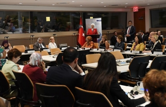 Emine Erdoğan BM'de Türkiye'nin 'Sıfır Atık' tecrübesini anlattı