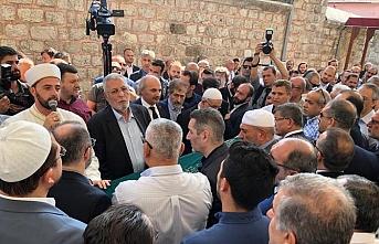 Erbakan'ın yakın çalışma arkadaşı Tahhan son yolculuğuna uğurlandı
