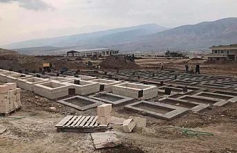 Hasankeyf'te  Ata yadigarından sonra türbe ve mezarlar da taşınıyor