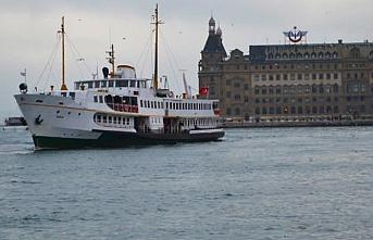 İstanbul'da vapur seferleri kış tarifesine geçti