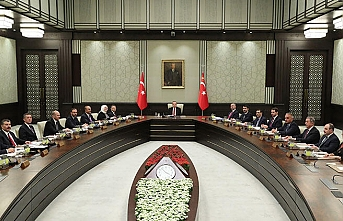 Kabine bugün Cumhurbaşkanlığı Külliyesi'nde toplanacak