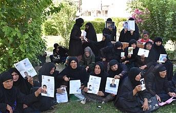Kerküklü Anneler, Peşmerge'den alıkonulan yakınlarını talep etti