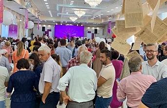 Kırım'da ilk Kırım Tatar Kitap Fuarı açıldı