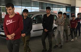 Kırklareli'nde kaçak göçmenler yakalandı