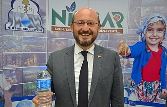 Libya'ya Niksar Ayvaz suyu gönderildi