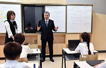 Taşkent'te ilk cumhurbaşkanlığı okulu açıldı