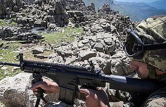 Tatvan kırsalında 5 terörist etkisiz hale getirildi