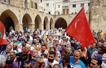 Trablusşamlılar Lübnan liderinin Osmanlı aleyhindeki sözlerini protesto etti