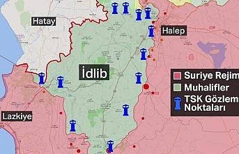 TSK'nın İdlib'de gözlem noktaları nerelerde ?