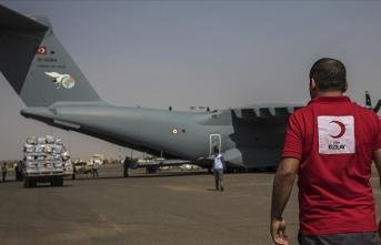 Türkiye'nin yardımları Sudan'a ulaştı