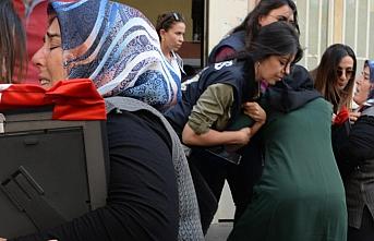 Diyarbakır'daki evlat nöbetinde hareketli anlar