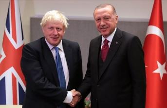 Erdoğan, Johnson ile görüştü