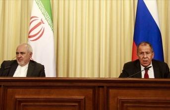 Lavrov ve Zarif Suriye meselesini görüştü