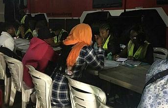Nijeryalılar Libya'dan ayrılıp memleketlerine döndü