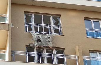 Nusaybin'e 6 roket isabet etti
