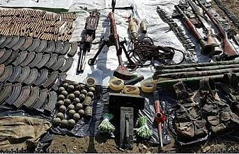 PKK'nın mühimmatları imha edildi