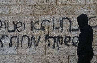 Şeria'nın batısında Yahudi yerleşimcilerden ırkçı saldırı