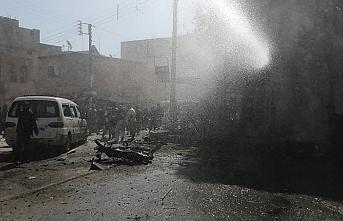 Suriye'deki muhaliflerin bölgesine eş zamanlı 3 saldırı