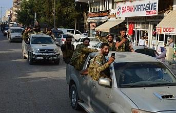 Suriye Milli Ordusu mensupları sınıra sevk oldu