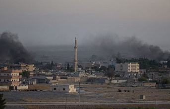 Suriye Milli Ordusu Tel Abyad merkezine girdi