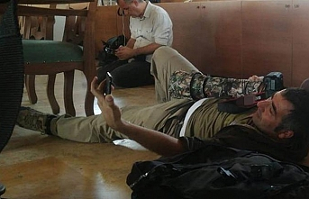 Teröristlerden gazetecilere ikinci saldırı