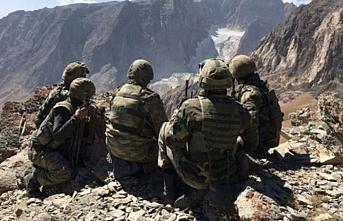 Tunceli kırsalında 2 terörist öldürüldü