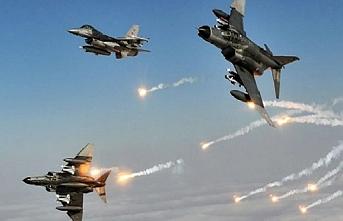 6 terörist hava harekatıyla etkisiz hale getirildi