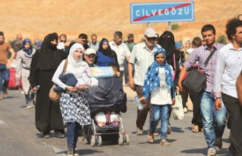 90 Suriyeli mülteci ülkesine uğurlandı