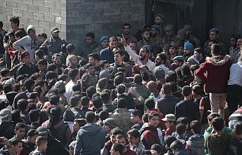 Bab'daki terör saldırısı protesto edildi