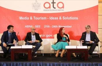 Balkan-Güney Doğu Avrupa Haber Ajansları Birliği Arnavutluk'ta toplandı