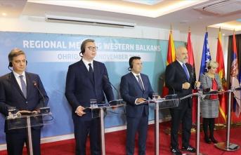 Batı Balkan liderleri Kuzey Makedonya'da toplandı