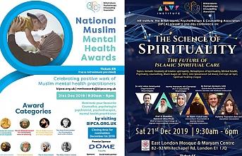 İngiltere Ulusal Müslüman Ruh Sağlığı Ödülleri töreni