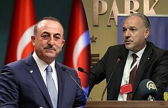 Çavuşoğlu Kosova Demokratik Türk Partisi Genel Başkanını kutladı