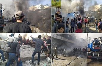 El-Bab'da bombalı saldırı.. Yine siviller hedef..18 ölü