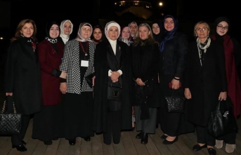 Emine Erdoğan Amerika Diyanet Merkezi'ni ziyaret etti